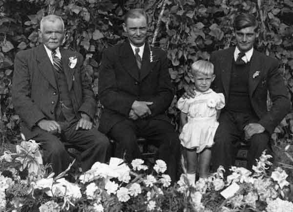 Het viergeslacht Petrus D�sir�, Louis, Louis en Albert