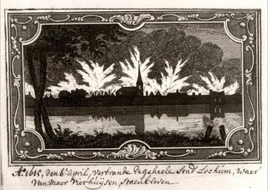 Stadsbrand Lochem 1615