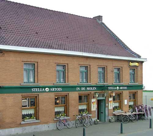 Caf� In de molen in Bierbeek
